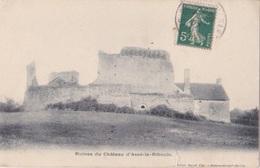 ASSE LE RIBOULE (72) - Ruines Du Château - 1907 - Gayet - Other Municipalities