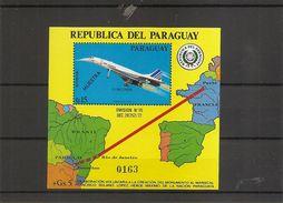 """Concorde ( BF 264 XXX -MNH- Du Paraguay Avec Surcharge """"MUESTRA-ESSAI) - Timbres"""