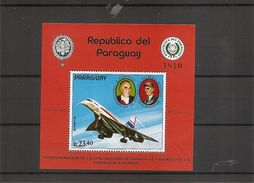 Concorde ( BF 193 XXX -MNH- Du Paraguay) - Sellos