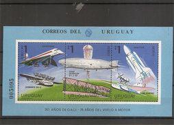 Concorde - Zeppelin -Avions  ( BF 38 XXX -MNH- De L'Uruguay) - Timbres