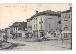 CPA 87 Chalus Place De La Fontaine - Chalus
