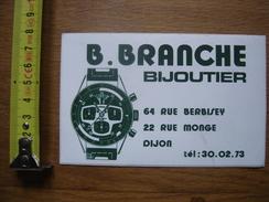 Autocollant Sticker BRANCHE BIJOUTIER DIJON Montre - Autocollants