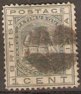 British Guiana 1876 SG 126 1c Fine Used - British Guiana (...-1966)