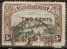 British Guiana 1899 SG 222 2c Oveprint Fine Used - British Guiana (...-1966)