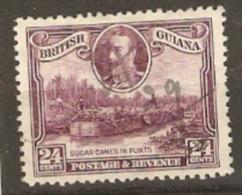 British Guiana 1934 SG 294 24c Fine Used - British Guiana (...-1966)