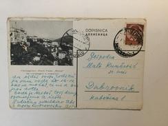 AK  YUGOSLAVIA   HERCEGNOVI   1938. - Brieven En Documenten