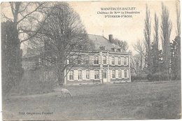 Wanfercée-Baulet NA4: Château De Mme La Douairière D'Udekem-D'Acoz - Fleurus
