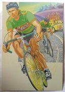 CPM SPORT CYCLISTES CYCLISME CARTE POSTALE EDITIONS ABEILLE 2095-4 - Cycling