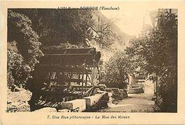 - Depts Div.-ref-TT235- Vaucluse - L Isle Sur Sorgue - Une Rue Pittoresque - Rue Des Roues - Reas - Carte Bon Etat - - L'Isle Sur Sorgue