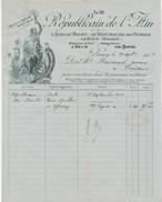 """Ain - Bourg En Bresse - Journal """"Le Républicain De L'Ain"""" """"L'Echo Du Bugey"""" """"Le Républicain Des Dombes"""" 1904 - France"""