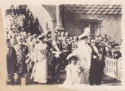 Photo Russie Le TZAR TSAR Nicolas En Famille Photo Originale Format Carte De Visite Vers 1914-1915 Par Soldat Belge - 1914-18