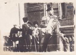 Photo Russie Le TZAR TSAR Nicolas à Cheval Photo Originale Format Carte De Visite Vers 1914-1915 Par Soldat Belge - 1914-18