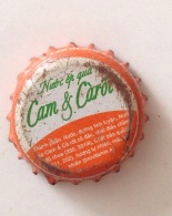 Vietnam Viet Nam Cam & Carrot Used Crown Cap / Kronkorken / Capsule / Chapa / Tappi - Soda