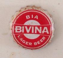 Vietnam Viet Nam BIVINA Beer Used Crown Cap / Kronkorken / Capsule / Chapa / Tappi - Kronkorken