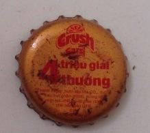 Cambodia Coca Cola Crush BIG PROMOTION Used Bottle Crown Cap / Kronkorken / Capsule / Chapa / Tappi - Caps