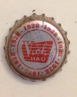 Vietnam Viet Nam VInh Hao Natural Water Used Crown Cap / Kronkorken / Capsule / Chapa / Tappi - Soda