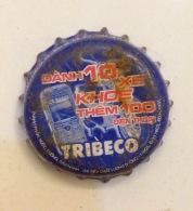 Vietnam Viet Nam TRIBECO Big Promotion Used Crown Cap / Kronkorken / Capsule / Chapa / Tappi - Soda