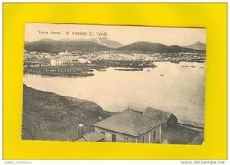 SÃO VICENTE 1910 YEARS AFRICA AFRIKA AFRIQUE CABO VERDE CAP VERT GENERAL VIEW POSTCARD - Cap Vert