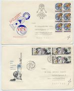 CZECHOSLOVAKIA 1979 Anniversaries Issue On Six FDC's.  Michel 2499-504 - FDC