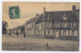 CULAN Route De La Gare - 1912 - Bon état - Culan