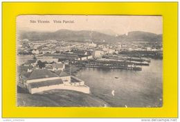 SÃO VICENTE 1910 YEARS AFRICA AFRIKA AFRIQUE CABO VERDE CAP VERT CAPE VERDE PARTIAL VIEW POSTCARD - Cap Vert