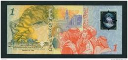 KUWAIT  -  26th February 1993  2nd Anniversary Of The Liberation Of Kuwait  1kd  UNC Commemorative Banknote In Folder - Kuwait