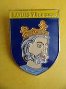 No Pins BROCHE Des ROIS Et REINES De France  LOUIS VI LE GROS    - Ed. ATLAS - Personajes Célebres