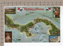 Republica De Panama - La Tierra Divida - El Mundo Unido - Panama