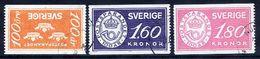SWEDEN 1984 Savings Bank Centenary  Used.  Michel 1267-69 - Sweden