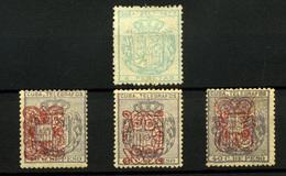 Cuba (Telégrafos) Nº 42, 58 Y 60/1. Años 1877-1883 - Cuba (1874-1898)