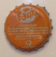 Vietnam Viet Nam Coca Cola Fanta Used Bottle Crown Cap / Kronkorken / Capsule / Chapa / Tappi - Caps