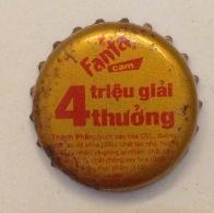Vietnam Coca Cola Fanta Big Promotion With 4 Millions Prizes / Used Bottle Crown Cap / Kronkorken / Capsule / Chapa - Casquettes