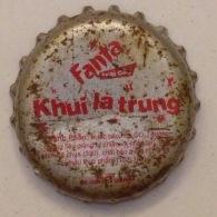 Vietnam Coca Cola Fanta Promotion Used Bottle Crown Cap / Kronkorken / Capsule / Chapa / Tappi - Caps