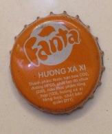 Vietnam Coca Cola Fanta Sarsi Flavor Used Bottle Crown Cap / Kronkorken / Capsule / Chapa / Tappi - Casquettes