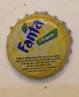 Vietnam Coca Cola Fanta Lemon Flavor Used Bottle Crown Cap / Kronkorken / Capsule / Chapa / Tappi - Caps