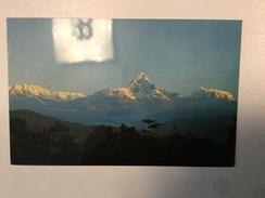 AK   NEPAL   ANNAPURNA HIMAL AT POKHARA - Népal