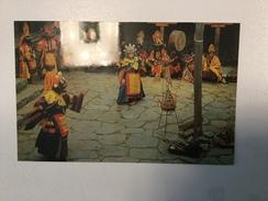 AK   NEPAL   TIBETAN NEW YEAR'S DANCE    TYYANG BOCHE TEMPLE - Nepal