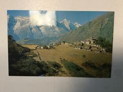 AK   NEPAL     TYYANGBOCHE TEMPLE AND KWANGDE - Népal
