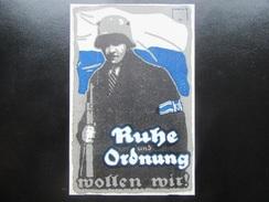 Postkarte Revolution München 1918 1919 Freikorps Einwohnerwehr - Guerre 1914-18