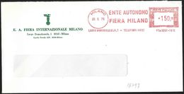"Italia/Italy/Italie: Ema, Meter, ""Ente Autonomo Fiera Milano"" - Esposizioni Universali"