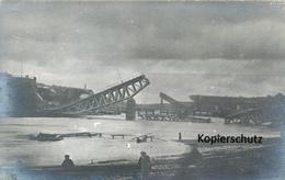 AK Grodno, Zerstörte Brücke - Belarus