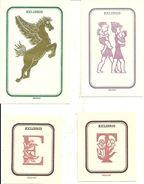 Ex Libris (Exlibris), N. 4 Exlibris Di Maria Elena Leboroni - Ex Libris
