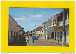 GUINE BISSAU GUINEA 1960 YEARS AFRICA AFRIKA AFRIQUE STREET SCENE & CLASSIC CAR CARS AUTOMOBILE AUTOMOBILES POSTCARD - Guinea-Bissau