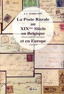 LA POSTE RURALE AU XIXème Siècle En Belgique & Europe - Philatélie Et Histoire Postale