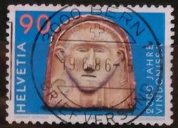 SUIZA 1986 Anniversaries. USADO - USED. - Suiza