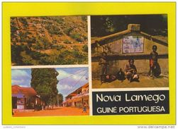 GUINE BISSAU GUINEA 1960 YEARS AFRICA AFRIKA AFRIQUE NOVA LAMEGO MULTI VIEWS POSTCARD - Guinea-Bissau