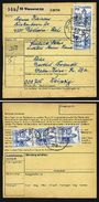 A4894) Bund Paketkarte Wuppertal 1978 MeF 70 Pfg. Burgen - Briefe U. Dokumente