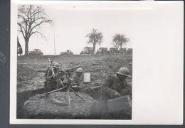 Photo 12 X 18 Cm, Section Cinematographique De L'armee - Guerre, Militaire