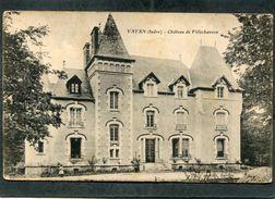 CPA - VATAN - Château De Villechauvon - France