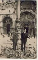 VENEZIA - Cartolina Private, Pigeons  Ca 1910 - Venezia (Venice)